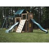 Image of Congo Safari Lookout and Climber Playset With Two Slides