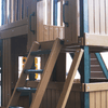 Image of Congo Safari Lookout and Climber Swing Set Stairs to Fort
