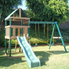 Image of kidwise safari outdoor swing set