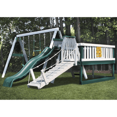 Congo Swing'N Monkey 3 Swing Set with Play Deck