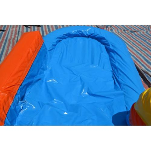19'H Curved Inflatable Slide Wet/Dry