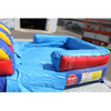 Image of 18'H Double Dip Inflatable Slide Wet and Dry - RBY - Splash Pool