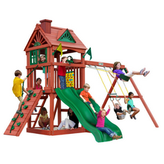 Image of Gorilla Double Down II Swing Set