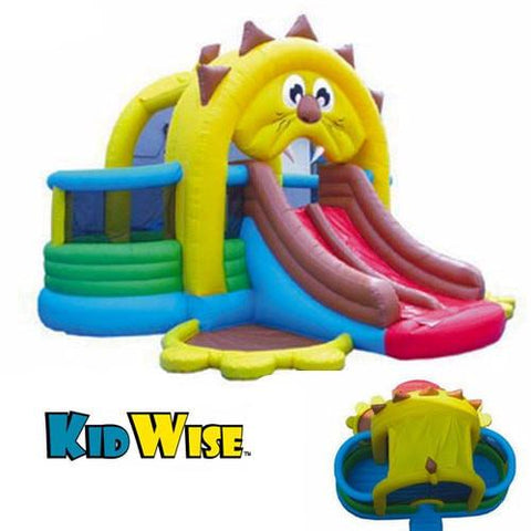 KidWise Commercial Lion's Den Bouncer and Slide