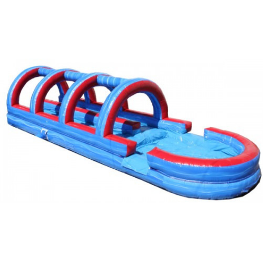 Dual Lane Tsunami Inflatable Slip n Slide
