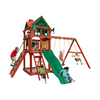 Image of Gorilla Five Star II Wooden Swing Set