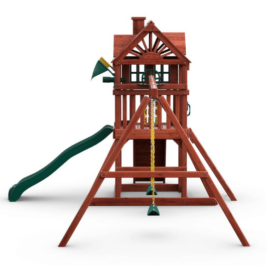 Gorilla Playsets Nantucket II Wooden Swing Set