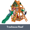 Image of Gorilla Chateau Tower Playset with Treehouse Roof
