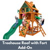 Image of Gorilla Chateau Tower with Treehouse Roof and Fort Add On