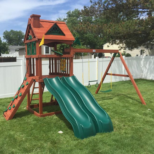 Gorilla Double Down Swing Set