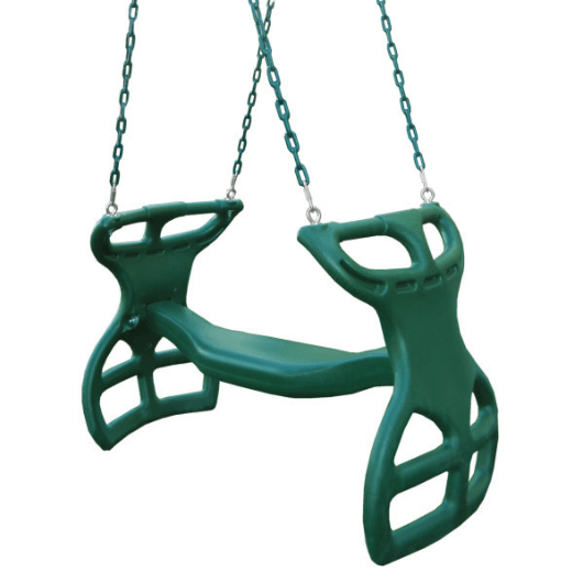 Dual Ride Glider Swing by Gorilla Playsets