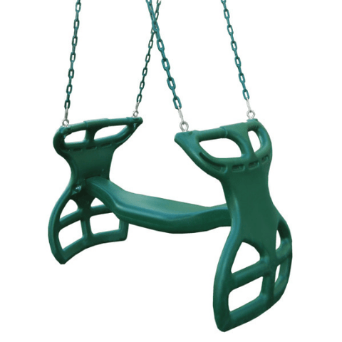 Dual Ride Glider Swing by Gorilla Playsets - Swing Set Accessories