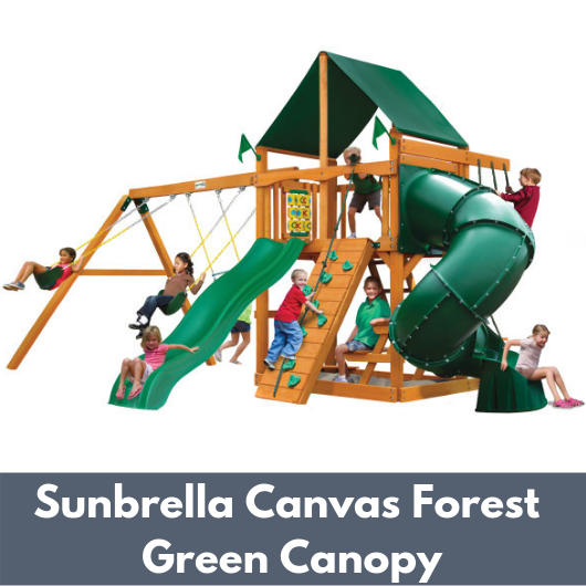 Gorilla Mountaineer with Sunbrella Canvas Forest Green Canopy