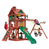 Image of Gorilla Playsets Nantucket Wooden Swing Set