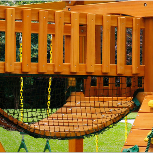 Gorilla Playsets Clatter Bridge with Mesh Panels