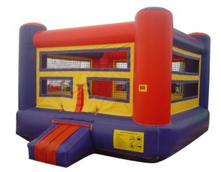 Commercial Bounce House - Boxing Ring Commercial Bounce House - The Bounce House Store