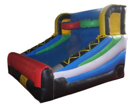 Commercial Bounce House - 2-Person Inflatable Basketball Playset - The Bounce House Store