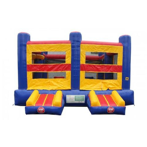 Interactive 5 in 1 Commercial Bounce House