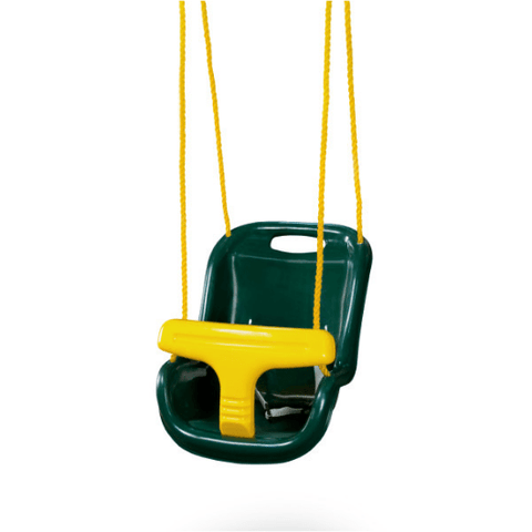 Gorilla High Back Infant Swing with Rope green