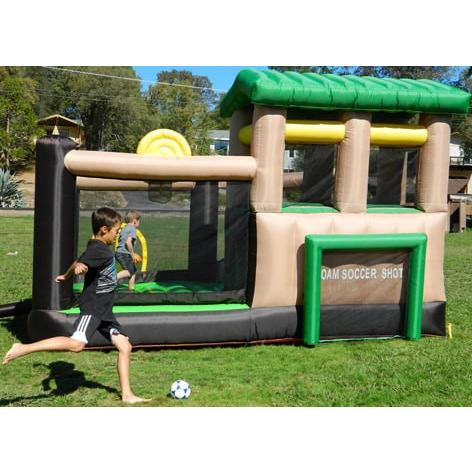 Residential Bounce House - Island Hopper Fort All Sport 7 Activity Bounce House - The Bounce House Store
