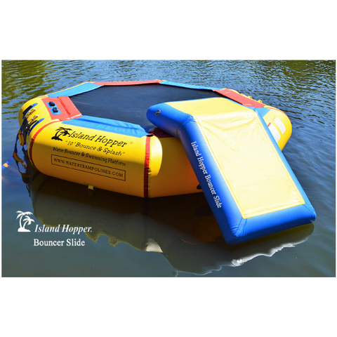 Island Hopper Slide Attachment For Water Bouncer