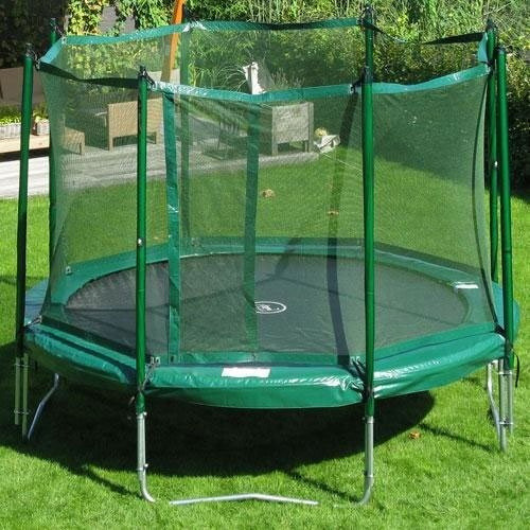 JumpFree 12' Trampoline with Safety Enclosure