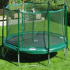 Image of JumpFree 12' Trampoline with Safety Enclosure