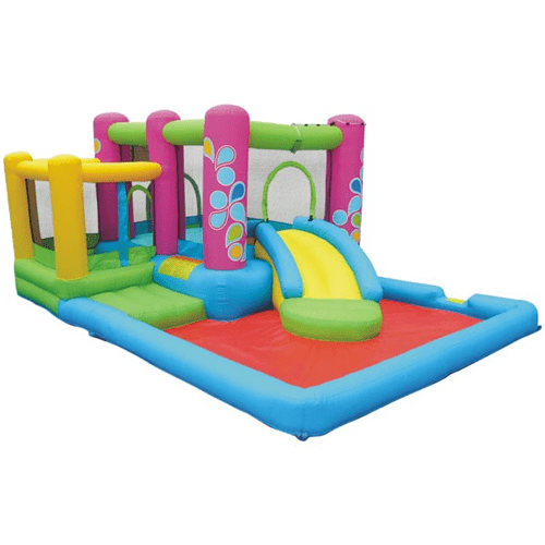 KidWise Little Sprout All-In-One Bounce 'N Slide Combo