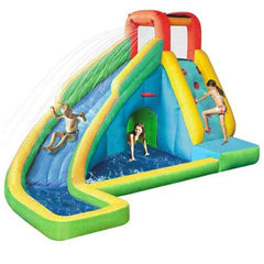 Residential Bounce House - KidWise Splash'N Play Waterslide - The Bounce House Store