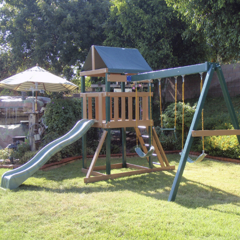 safari swing set by congo