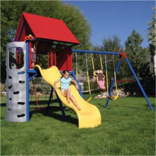 LIFETIME A-Frame Metal Playset image 3