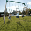 Image of LIFETIME 10Ft Metal Swing Set