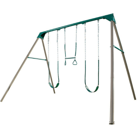 LIFETIME 10Ft Metal Swing Set