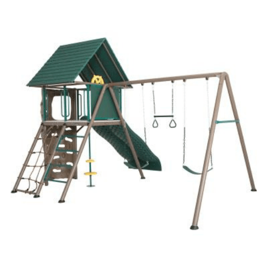 LIFETIME Big Stuff Adventure Metal Swing Set