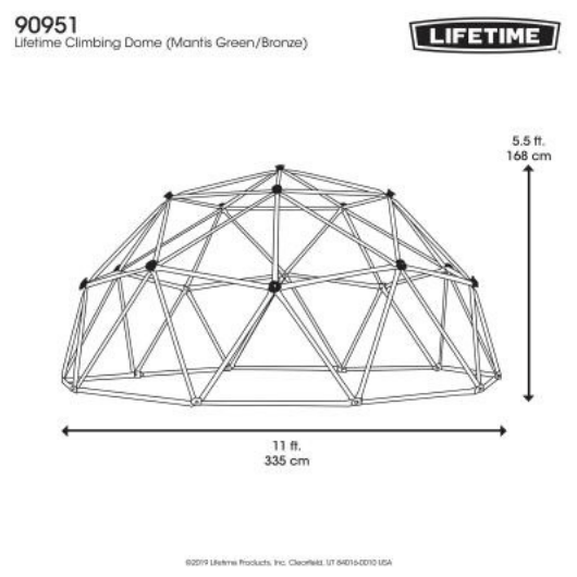 LIFETIME Climbing Dome