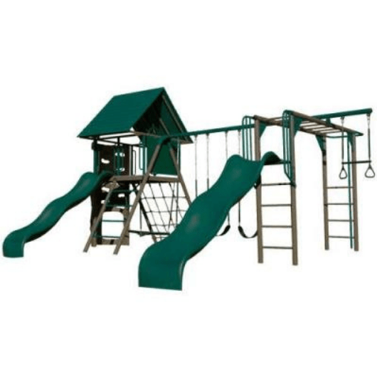 Lifetime Double Slide Deluxe Playset - Earthtones