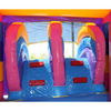 Image of Multi Color Commercial Bounce House Combo with Pool wet n dry