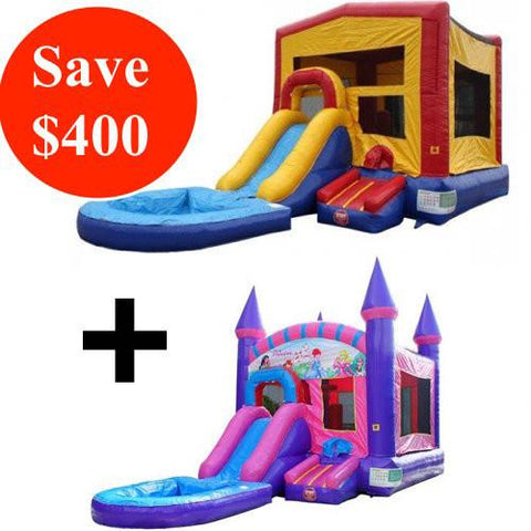 Commercial Bounce House Combo Bundle