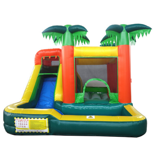 Palm Tree Residential Bounce House Combo