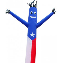 Air Dancer - LookOurWay Puerto Rican Flag AirDancer® 20ft - The Bounce House Store