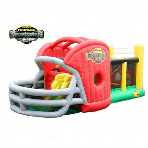 Commercial Bounce House - KidWise Gridiron Football Challenge Commercial Bounce House - The Bounce House Store