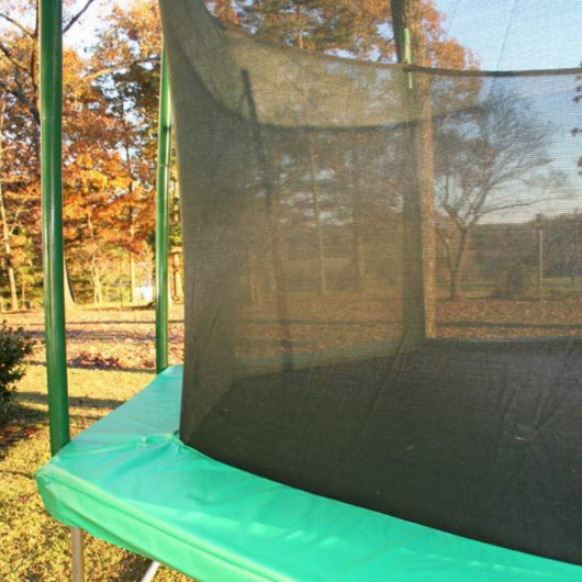 Safety Cage on Magic Circle 16' Octagon Trampoline