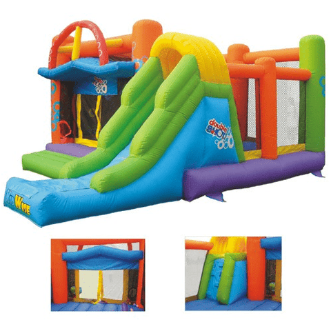 KidWise Double Shot Commercial Inflatable Bounce House