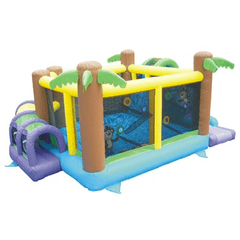 Commercial Bounce House - KidWise Monkey Explorer Commercial Bounce House - The Bounce House Store