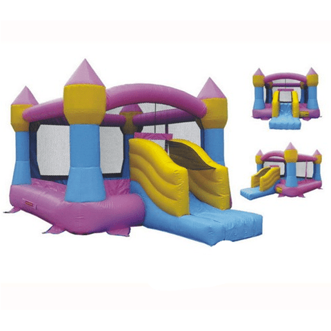 KidWise Commercial Castle Bouncer With Slide