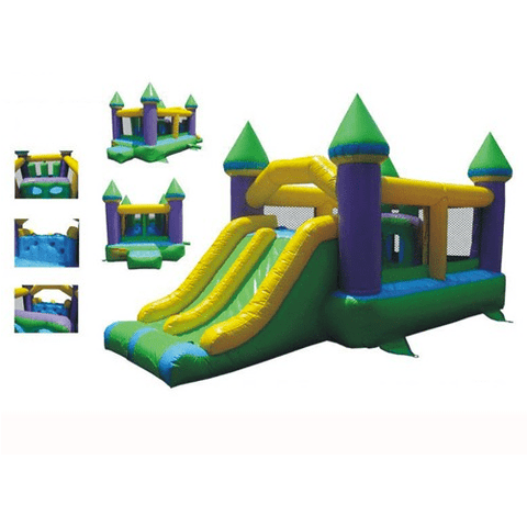 Commercial Bounce House - KidWise Commercial Bounce and Slide Castle II - The Bounce House Store