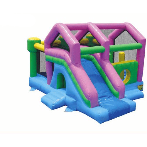 Commercial Bounce House - KidWise 3 in 1 Commercial Bounce House with Slide - The Bounce House Store