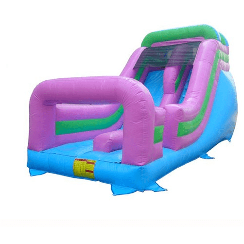 Commercial Bounce House - KidWise Commercial Grade 21' Single Lane Inflatable Slide - The Bounce House Store