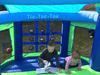 Image of Residential Bounce House - Island Hopper Shady Play Game Room Bounce House - The Bounce House Store