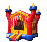 Commercial Bounce House - 3D Castle Jumper - The Bounce House Store